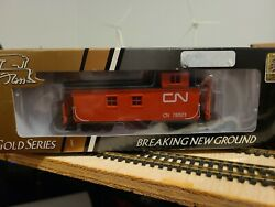 Ho Scale Canadian National Cn True Line Gold Series Caboose