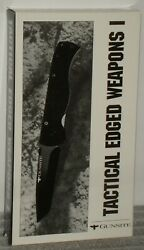 Tactical Edged Weapons Vhs Gunsight Training Center Surviving Knife Attacks Oop