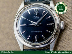 Tudor Oyster Big Rose Ref.7934 Vintage Manual Winding Mens Watch Auth Works