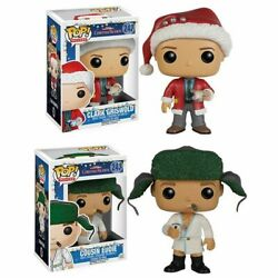 Funko Pop Movies Christmas Vacation - Clark Griswold And Cousin Eddie Bundle