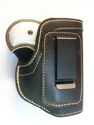 Leather Big Bore W/trigger Guard Right Handed Iwb Holster Probag Made Usa