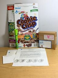 Gm Cookie Crisp Cereal Box With Bugs Life Talking Bank And Recalled Flashlight