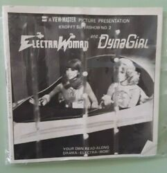 View-master Viewmaster Gaf Electra Woman And Dyna Girl 3-reel Set And Booklet 1977