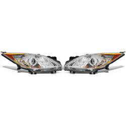 For Mazda 3 Headlight 2012-2013 Pair Rh And Lh 5 Speed Transmission Ma2518130