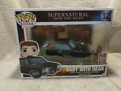 Sdcc 2017 Comic-con Funko Pop Rides Supernatural Baby With Dean 32