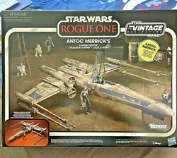 Star Wars Vintage Collection Rogue One Antoc Merrick X-wing Fighter No Figure