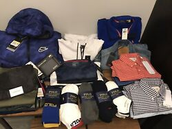 Lot Of Menandrsquos Nwt Clothing Polo Lacoste Adidas Sz S And M 1700+