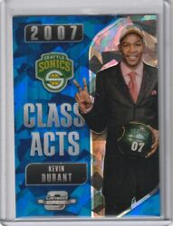 Kevin Durant 2018-19 Contenders Optic Blue Cracked Ice Class Acts Nets