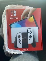 Nintendo Switch Oled Version Console Factory Sealed Color White Ship Same Day