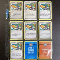 Pokemon Card Game Tropical Wind 2008 All Kinds Set F/s Japan
