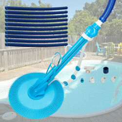 Upgraded Swimming Pool Cleaner Climb Wall Ground Automatic Suction Vacuum New