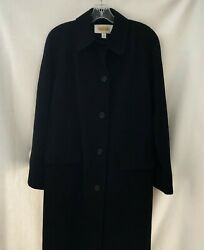 Talbots Trench Coat Size 6 Maxi All Weather Long Button Down Long Sleeves Lined