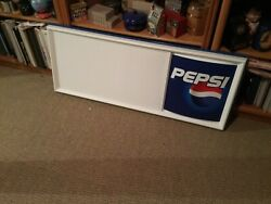 Pepsi Cola Menu Board Letter Sign With Letters