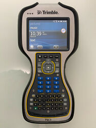 Trimble Tsc3 2.4 Ghz Radio With Survey Pro Layout Pro Scs900 And Carlson Survce