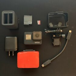 Gopro Hero 7 Black With Battery, Charger, Micro Sd Card, Accessories, Used