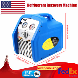 Twin Cylinder Refrigerant Recovery Equip For Refrigerator/air Conditioner