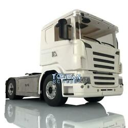 1/14 4x4 Lesu Metal Chassis Hercules Cab Rc Tractor Truck Radio Sound For Scania