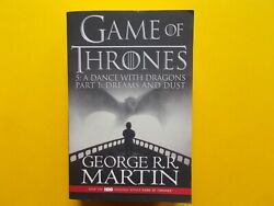 Game Of Thrones - A Dance With Dragons Part 1 Dream And Dust - George R.r. Martin