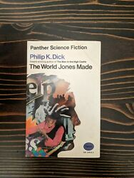 The World Jones Made Philip K. Dick First Panther Printing Paperback 1970