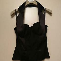 Authentic Christian Dior Vintage Halter Bustier John Galliano Size 38 Deadstock