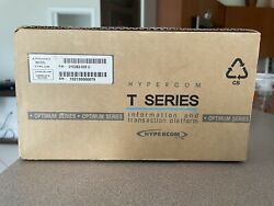 Hypercom T Series Model T7plus Credit Card Machine And Power Supply Terminal New