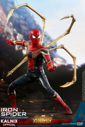 Iron Spider Avengers Infinity War Action Figure Toy Pvc Collectible Statue Gift