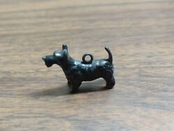 OLD Scottish Terrier Scotty Dog LEAD TOY Pendant Jewelry