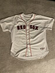Boston Red Sox Magestic Jersey 34 Ortiz Size52 3XL