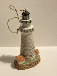 1994 Geo Z Lefton Boston Lighthouse Ornament 3 7 8quot; tall #01434 With Tag.