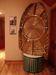 7and039 Tall Chance Bros 2rd Order Fresnel Lighthouse Lens