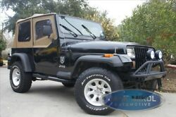 Spice Replacement Soft Top 88-95 Jeep Wrangler + Free Cup Holder Tinted Windows