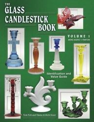 Glass Candlestick Book 1 Akro Agate Fenton: Autographed