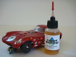 Liquid Bearings Best 100-synthetic Oil For Vintage Slot-it Cars Read Here