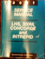 2001 Dodge LHS 300M Concorde Intrepid Service Manual 01