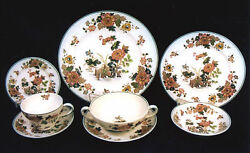 51-pieces Of Wedgwood English Eastern Flowers Tkd426 Pattern China