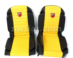 Fiat 600 Abarth Anatomical Yellow Seat Covers New