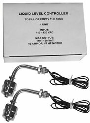 ==2 Liquid Levels==water Controller Sensor Stainless Steel Float Switch Tank3