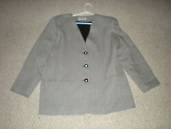 Alfred Dunner Size 14 Blazer Jacket Interview Clothes