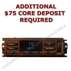 93 94 Lincoln Town Car AC Heater Climate Control EATC WITH REPAIRED BUTTONS!