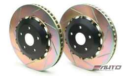 Brembo Front 2-piece Rotor Disc Upgrade 332x32 Slot F40