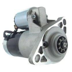 New Starter For Ford Tractor 1710, 1715, 1720, 1725, 1925 W/shibaura Dsl Eng