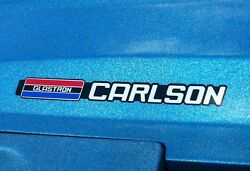 Glastron Carlson Emblems Used On Cvx 20 Engine Cover And Other Models 78 And Up