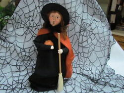 New For 2008 Byers Choice Halloween Caroler Mother Witch