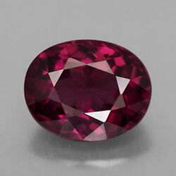 Masterpiece Collection Oval Faceted Aaa Natural Rhodolite Garnet 5x3mm-10x8mm