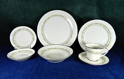 90-pieces Or Less Of Noritake Pattern 6908 Trilby Japanese Fine China