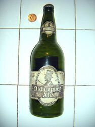 Rare Sign Old Topper Ale Figural 3-d Beer Bottle Sign Rochester Brewing Co.see