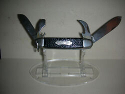 100 Clear Plastic Case Schrade Puma Boker Knife Display Stands