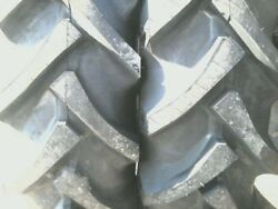 Two 12.4x24 Kubota B6100, M9540, L2850 R 1 8 Ply Tube Type Tractor Tires