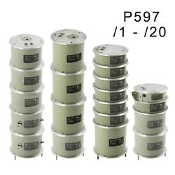 1pF-1mkF 0.05% P597 Capacitor standard capacitance set of 18psc an-g GenRad IET
