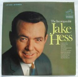 The Incomparable Jake Hess Lp 1968